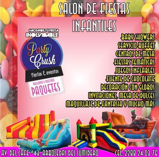 Salon De Fiestas Infantiles Party Crush En Xalapa